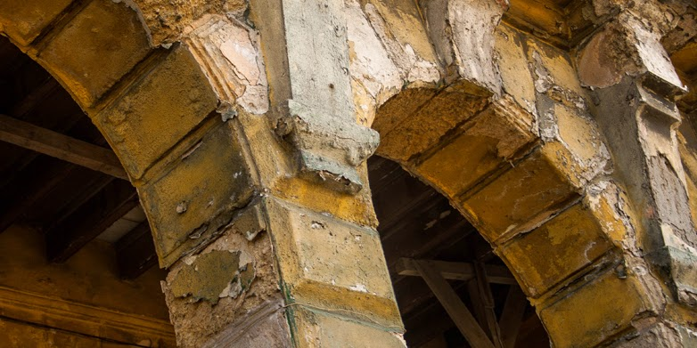 How salt causes historic buildings to crumble