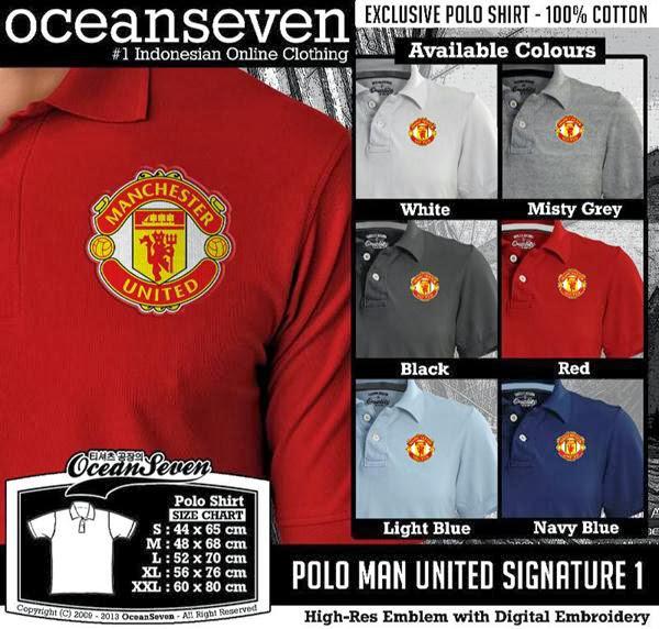 POLO Man Utd manchester United mu 11 Premier League distro ocean seven