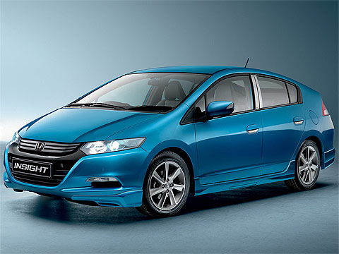 Motor Trend: 2010 HONDA Insight EU Version