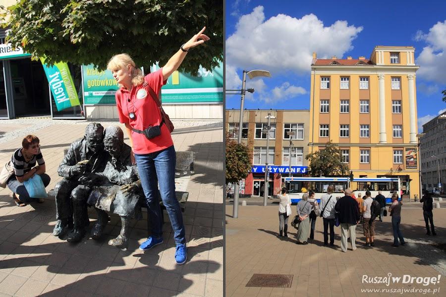 Ławeczka Kaszubów w Gdyni