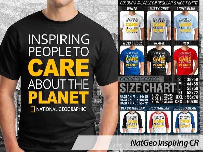 Kaos National Geographic NatGeo Inspiring distro ocean seven