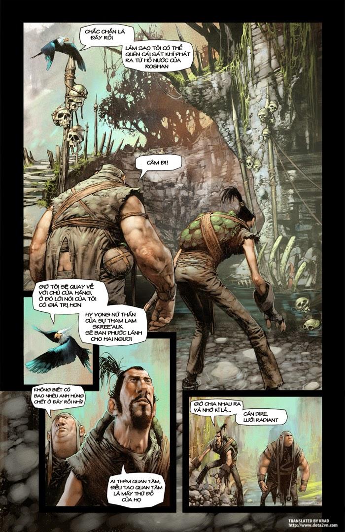 Comic DotA 2: Chúng ta đã là những anh hùng chưa (4)