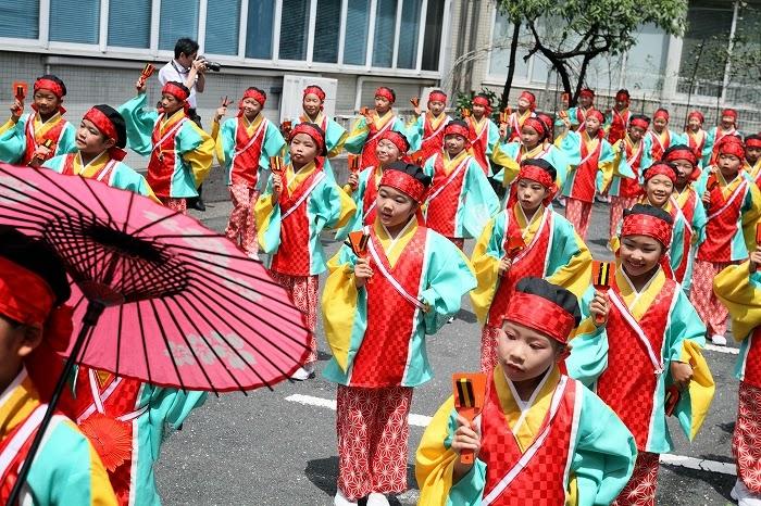 第61回よさこい祭り☆本祭2日目・川村病院6☆上2目0664