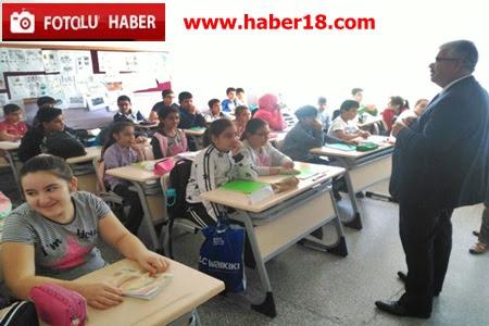 �ank�r� �l Milli E�itim M�d�r�m�z�n Okul Ziyaretleri