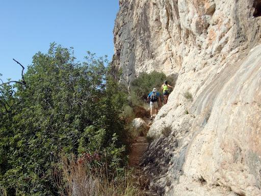 Senderismo Benitaxell - Cala Moraig - Cala Llebeig - Barranc de la Viuda SL-V 50