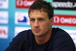 Ryan Lochte's serious face.