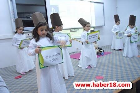 Çankırı  Mareşal Çakmak İlkokulu Mevlana Haftası Etkinlikleri