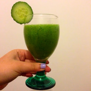 Glowing Green Smootie Recipe