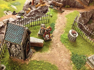 Martin investigates a coffin location