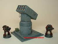 Missile battery Military Science Fiction war game terrain and scenery