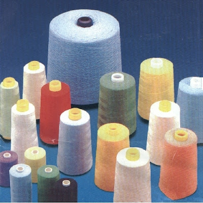 Tipos de hilos de coser
