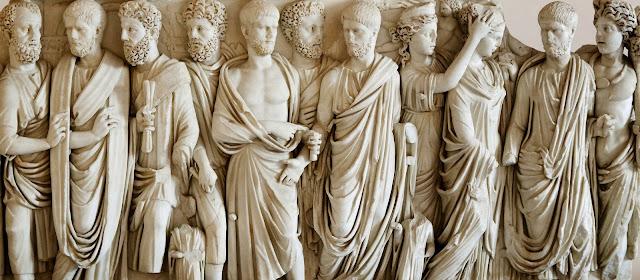 Vestidos mujeres romanas antiguas