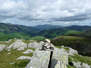 Borrowdale from High Knott