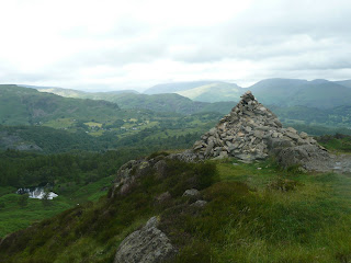 Ivy Crag Summit Cairn