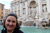 Natalie at Trevi Fountain - Rome, Italy