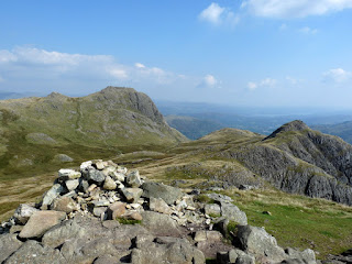 Harrison Stickle and Loft Crag from Pike of Stickle Summit