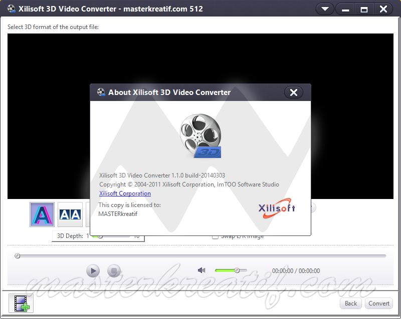 Xilisoft 3D Video Converter 1.1.0