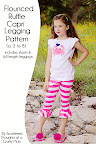 Shorts, Legging and Flounced Ruffle Capri Pattern