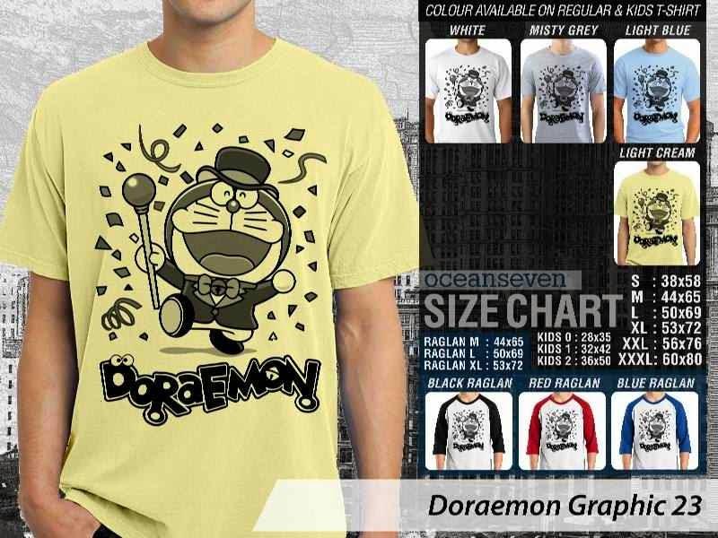 KAOS Doraemon 63 Manga Lucu distro ocean seven