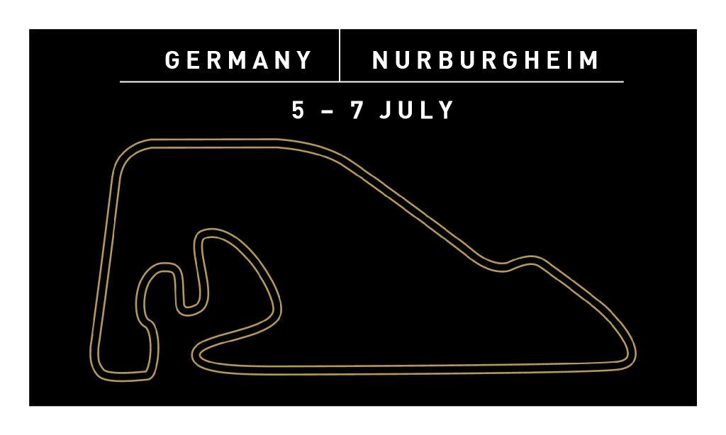 Нюрбургхайм - Germany Nurburgheim 5-7 July
