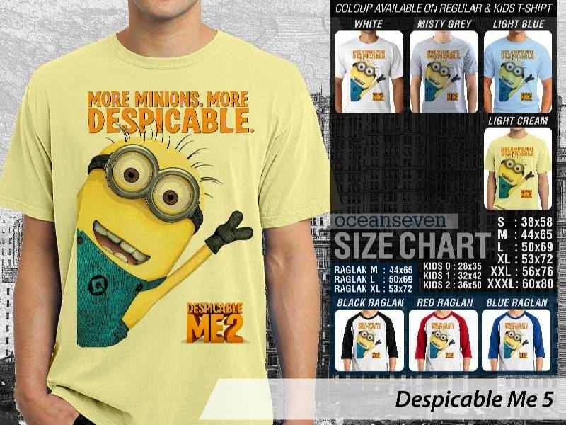 KAOS Despicable me 5 Movie Animation distro ocean seven