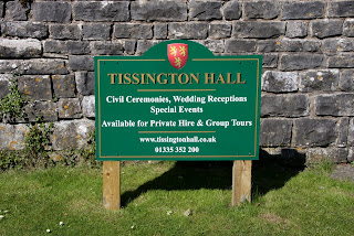 Tissington Hall Sign