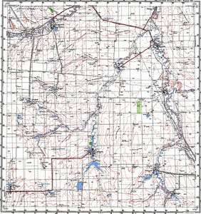 Map 100k--m39-015--(1998)