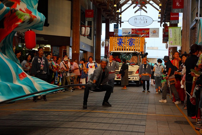 第59回よさこい祭り☆本祭2日目・はりまや橋競演場26☆上2目0038