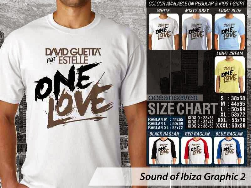 KAOS Musik Ibiza 2 David Guetta feat Estelle One Love distro ocean seven