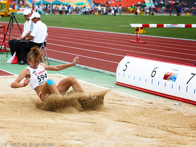 Юношеский чемпионат мира по легкой атлетике Донецк июль 2013 прыжки шест