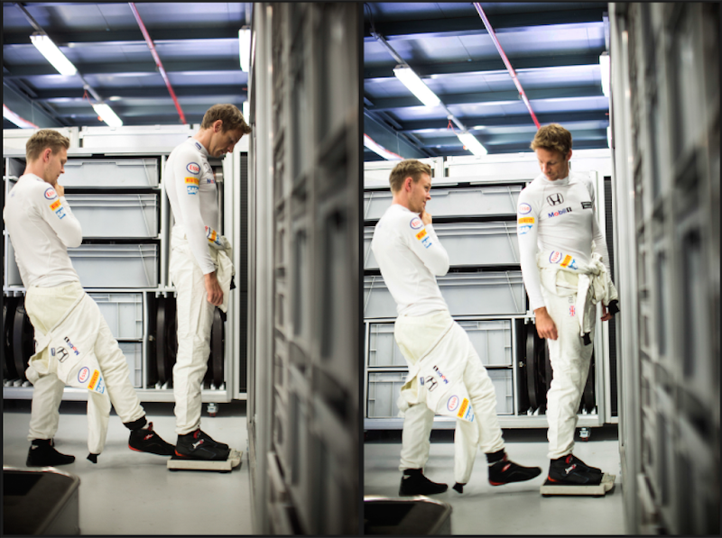 Кевин Магнуссен добавляет вес Дженсону Баттону на Гран-при Австралии 2015