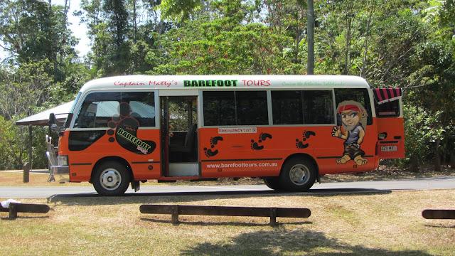 Captain Matty's funky bus.