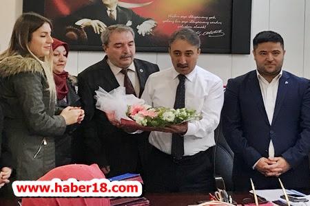 Çankırı MHP Teşkilatından Destek Ve Moral Ziyareti