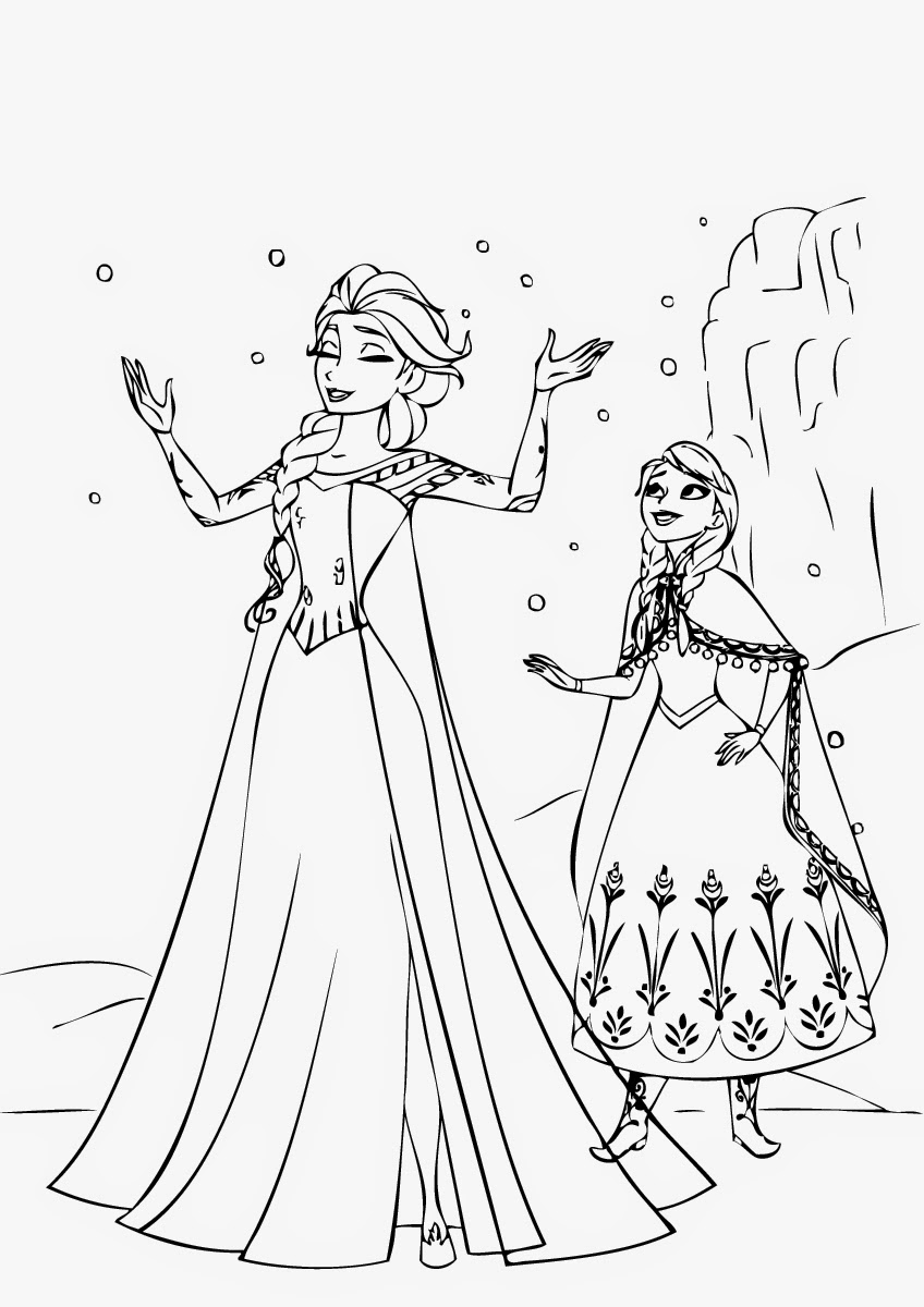 86 Frozen Coloring Pages Frozen Coloring Pages Print