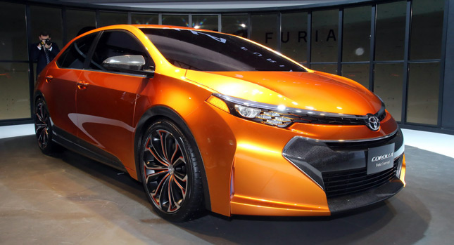 NAIAS: Corolla Furia Concept Hints at Toyota's New U.S ...