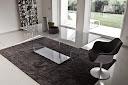 Table plateau laquée blanc Valencia