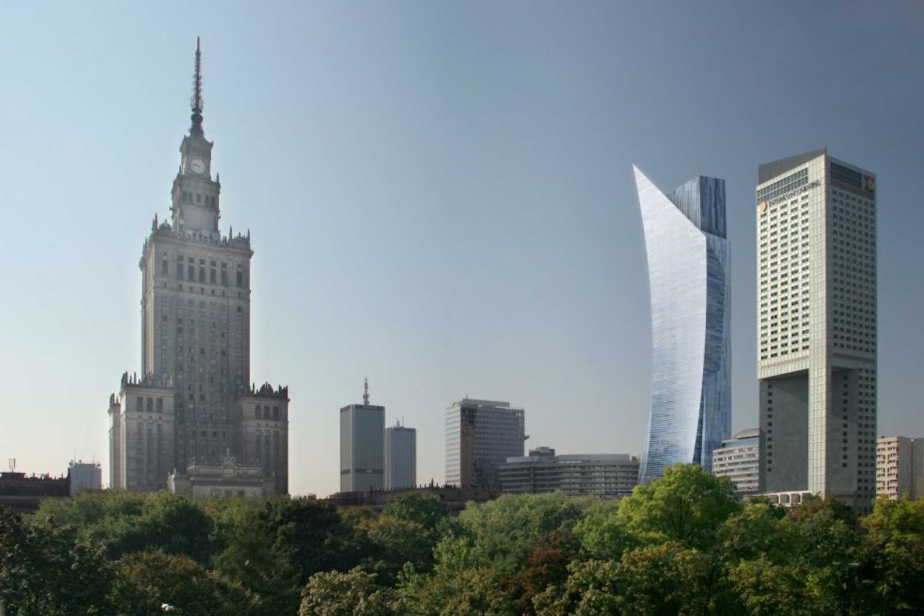 Zlota by Daniel Libeskind awarded with the European