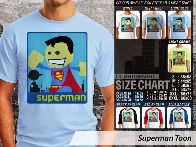 Kaos Superman Amazing Superhero distro ocean seven