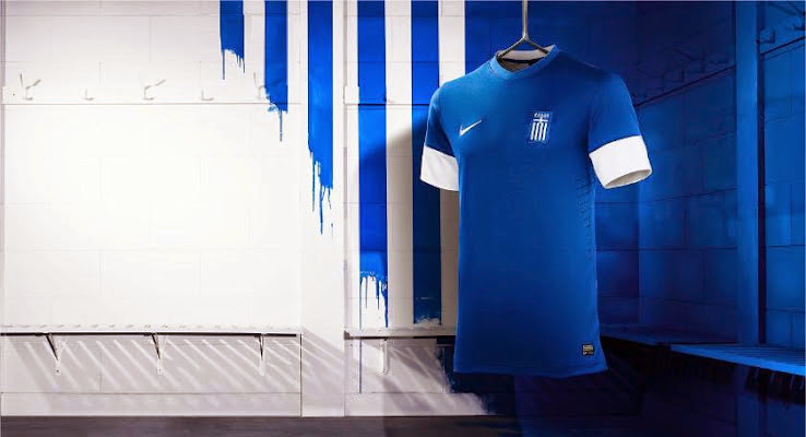 Greece home shirt 2014