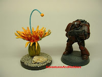 Alien flora 1 Fantasy and Science Fiction war game terrain and scenery