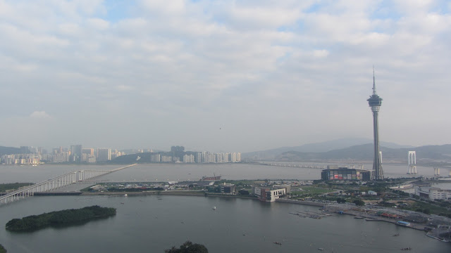 The 338 m (1,109 ft) Macau Tower.