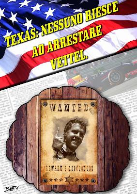 никто не может остановить Себастьяна Феттеля - комикс Baffi по Гран-при США 2013