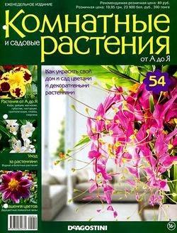 Комнатные и садовые растения от А до Я №54 2015
