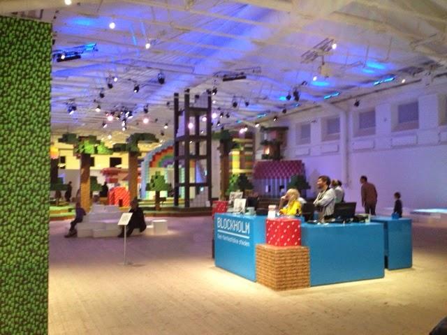 Blockholm på Arkitektur- och designcentrum