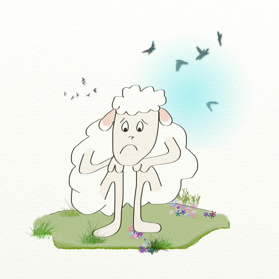 Dessin a colorier mouton - Mouton en dessin ...