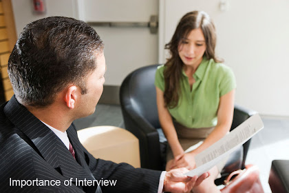 Importance of Interview