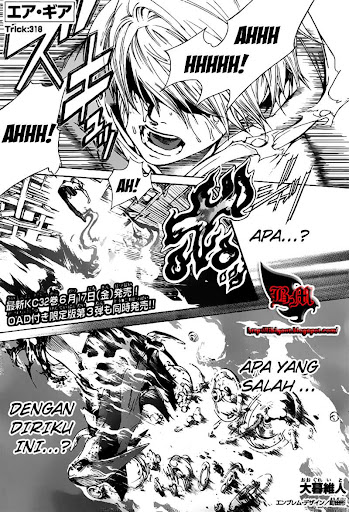 Air Gear 318 manga online page 01