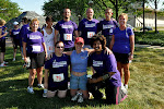 Team QuantumFit post-run (Rhonda and Jennifer had to go prep for the post-race pitch-in, but are here in spirit!).