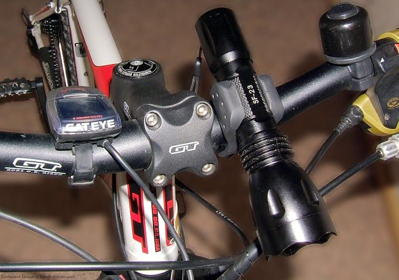 Кронштейн для фонаря на велосипед своими руками