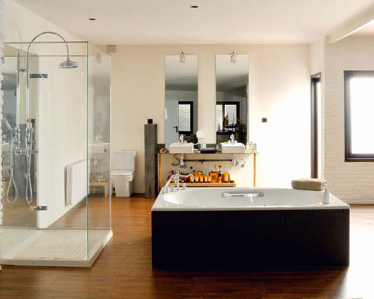 Modern Rustic Warehouse Conversion   Bathroom